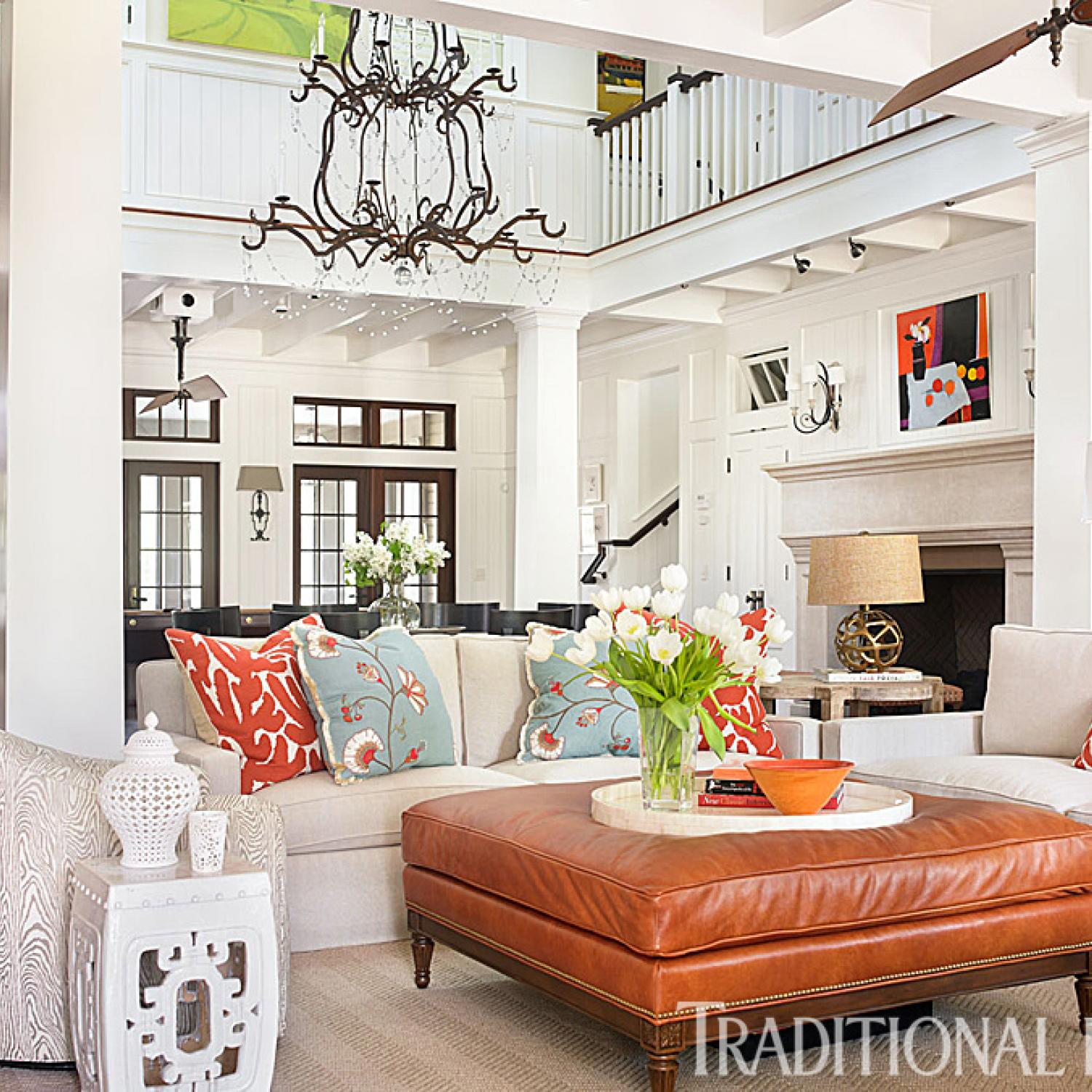 Traditional Interior Design By Ownby: Breezy Lowcountry Home
