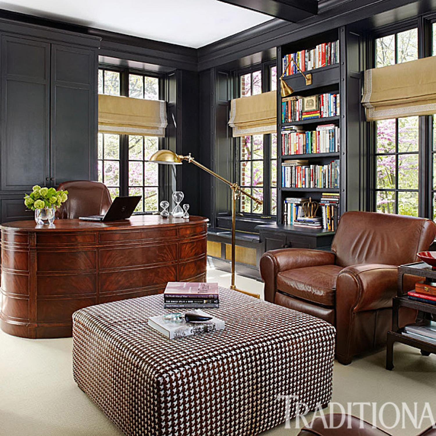 Gorgeous Updated Classic Home: Handsome Rooms With A Masculine Vibe