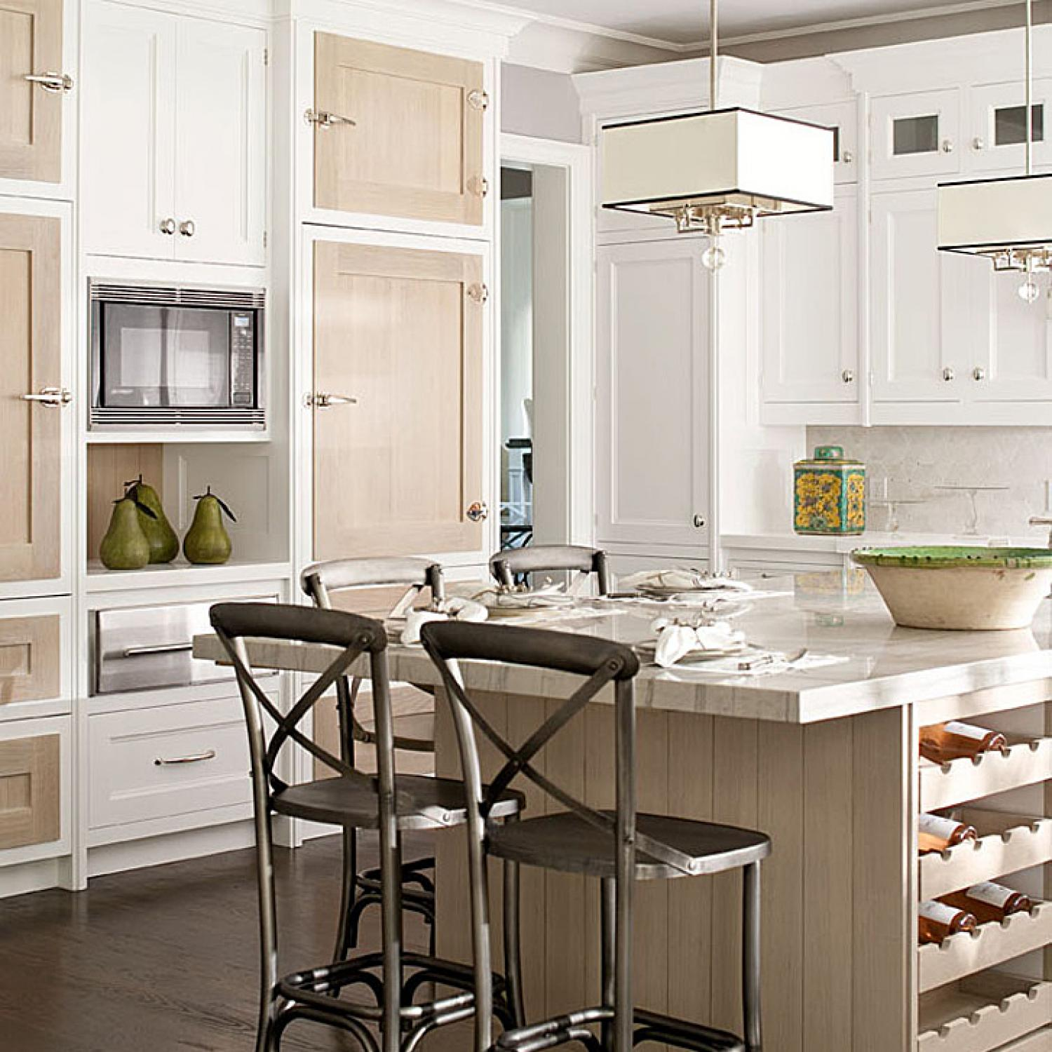 Showhouse Kitchen With Great Use Of Texture Traditional Home