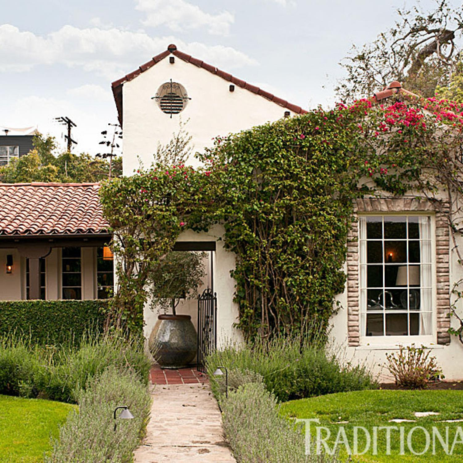 Mediterranean Revival Designs Curated By Los Angeles: Fresh, Classic Style In A West Hollywood Home