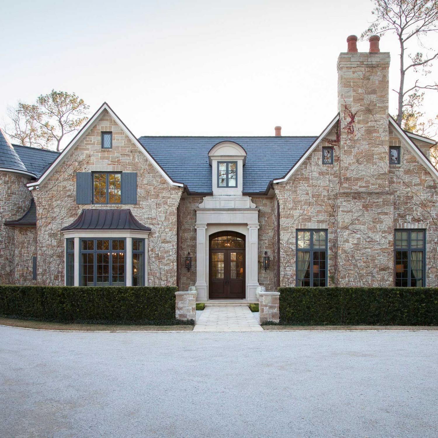 Houston Home With Country French Appeal