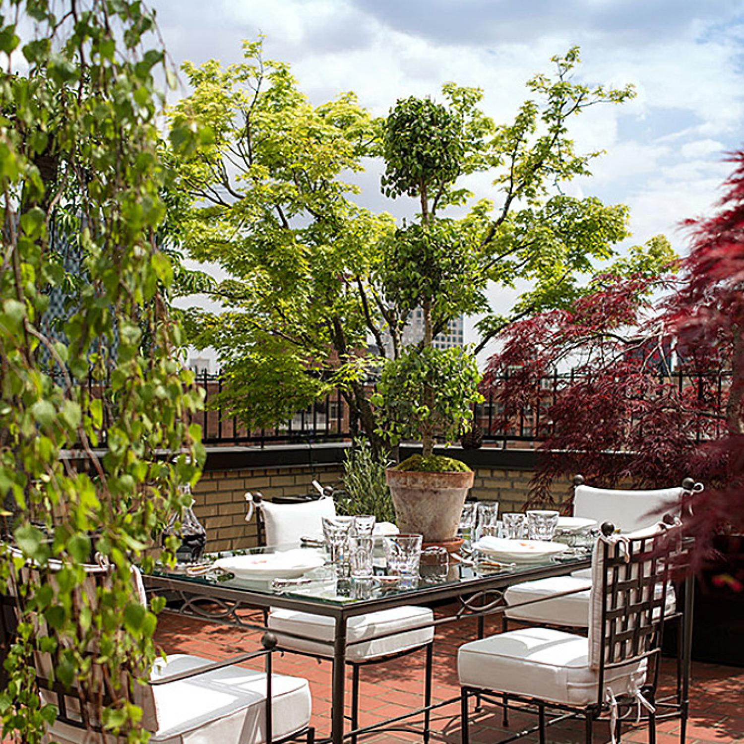 Ralph Rucci's Serene Rooftop Refuge