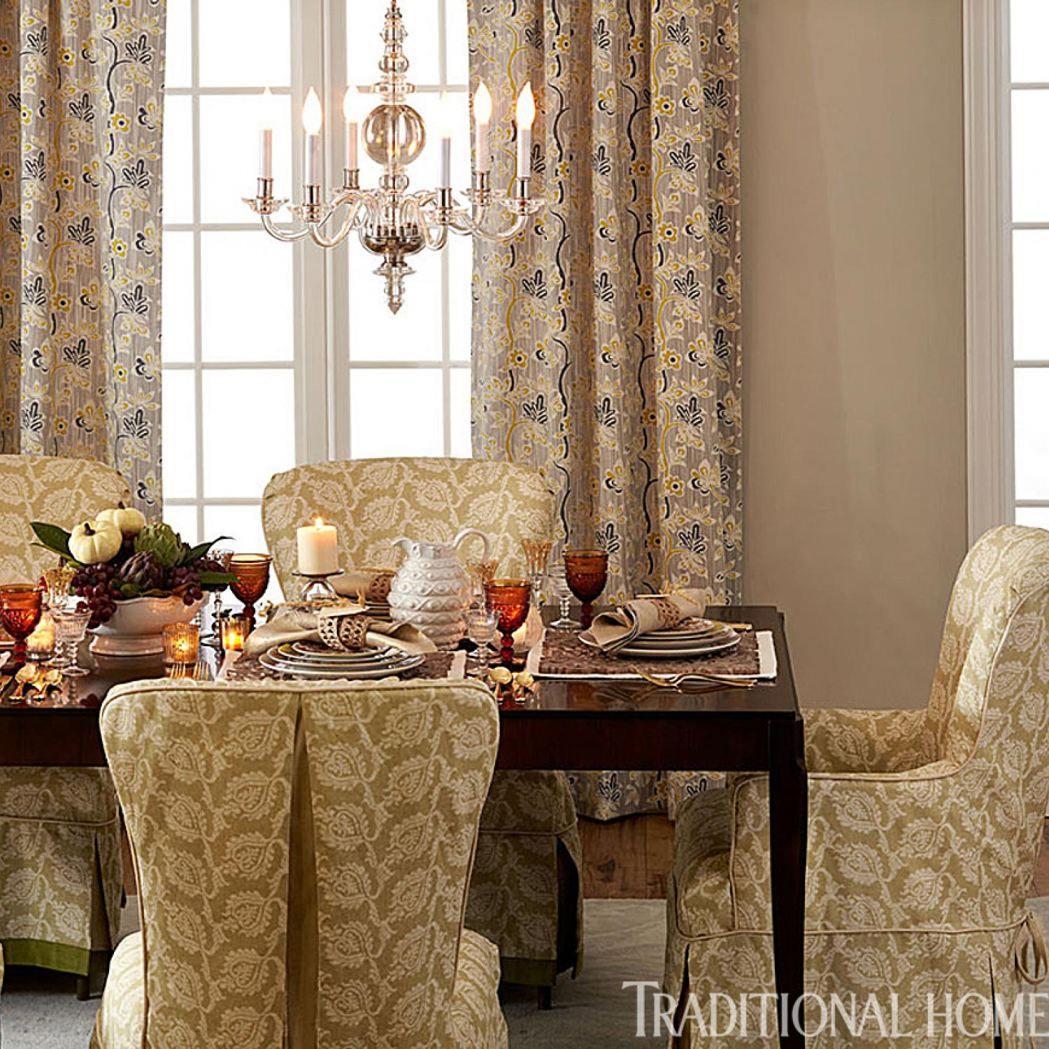 & Great Gatherings: Two Holiday Dinners | Traditional Home
