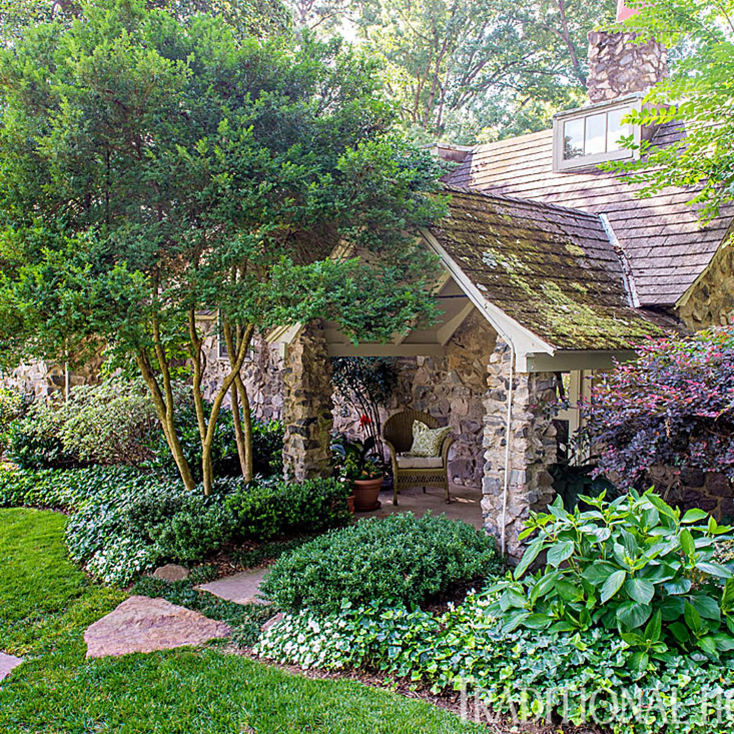 Richmond Garden Filled With Charm Traditional Home