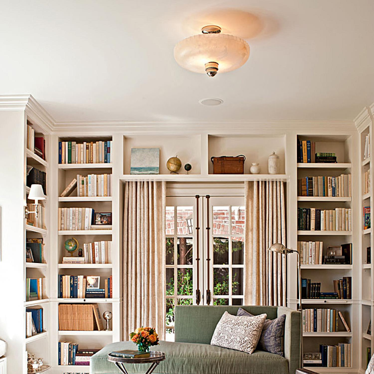 Dazzling Designer Libraries | Traditional Home