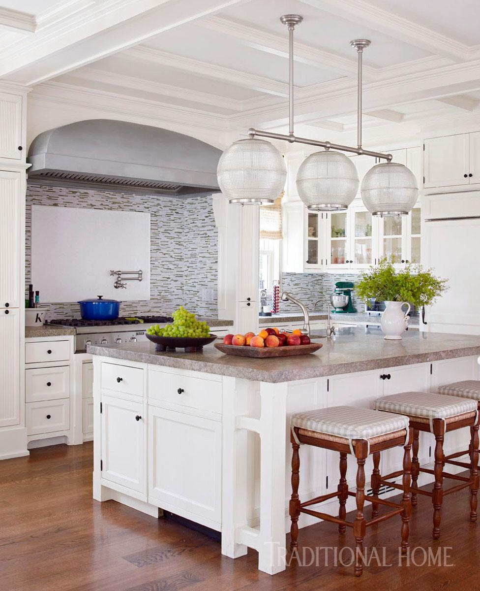 Hamptons Kitchen Great For Entertaining