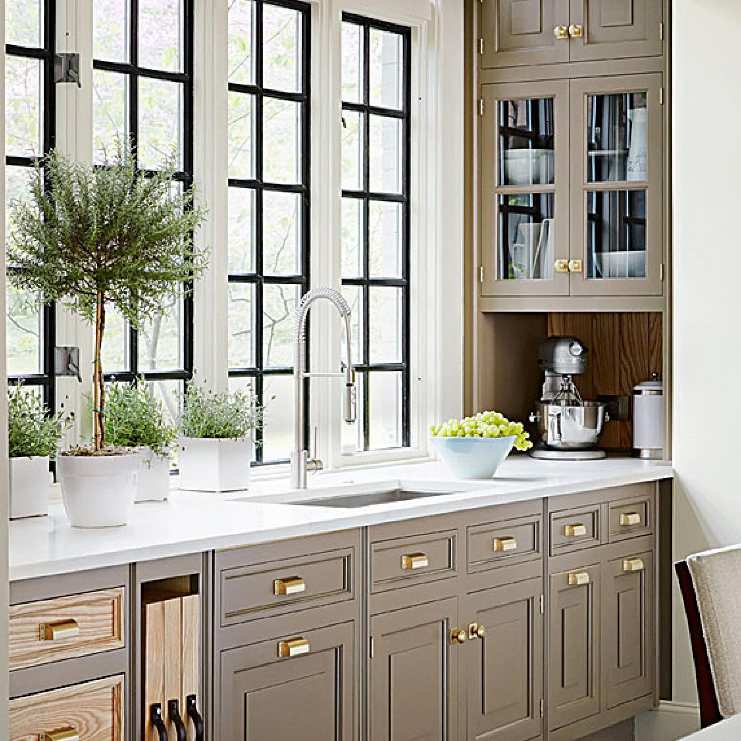 2018 Latest Home Kitchen Cabinet: Showhouse Kitchen Designed By Christopher Peacock