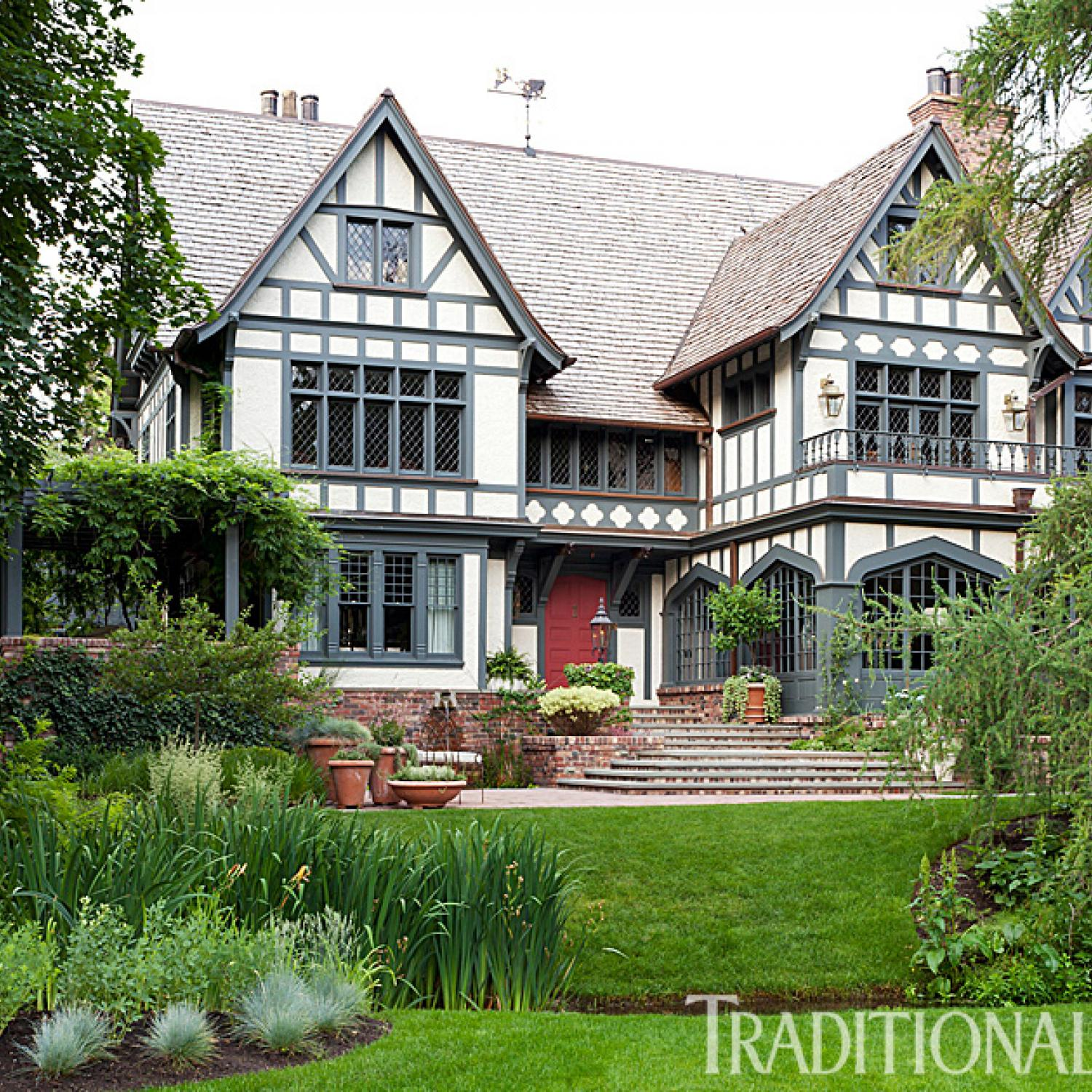 Meticulously restored tudor house in utah