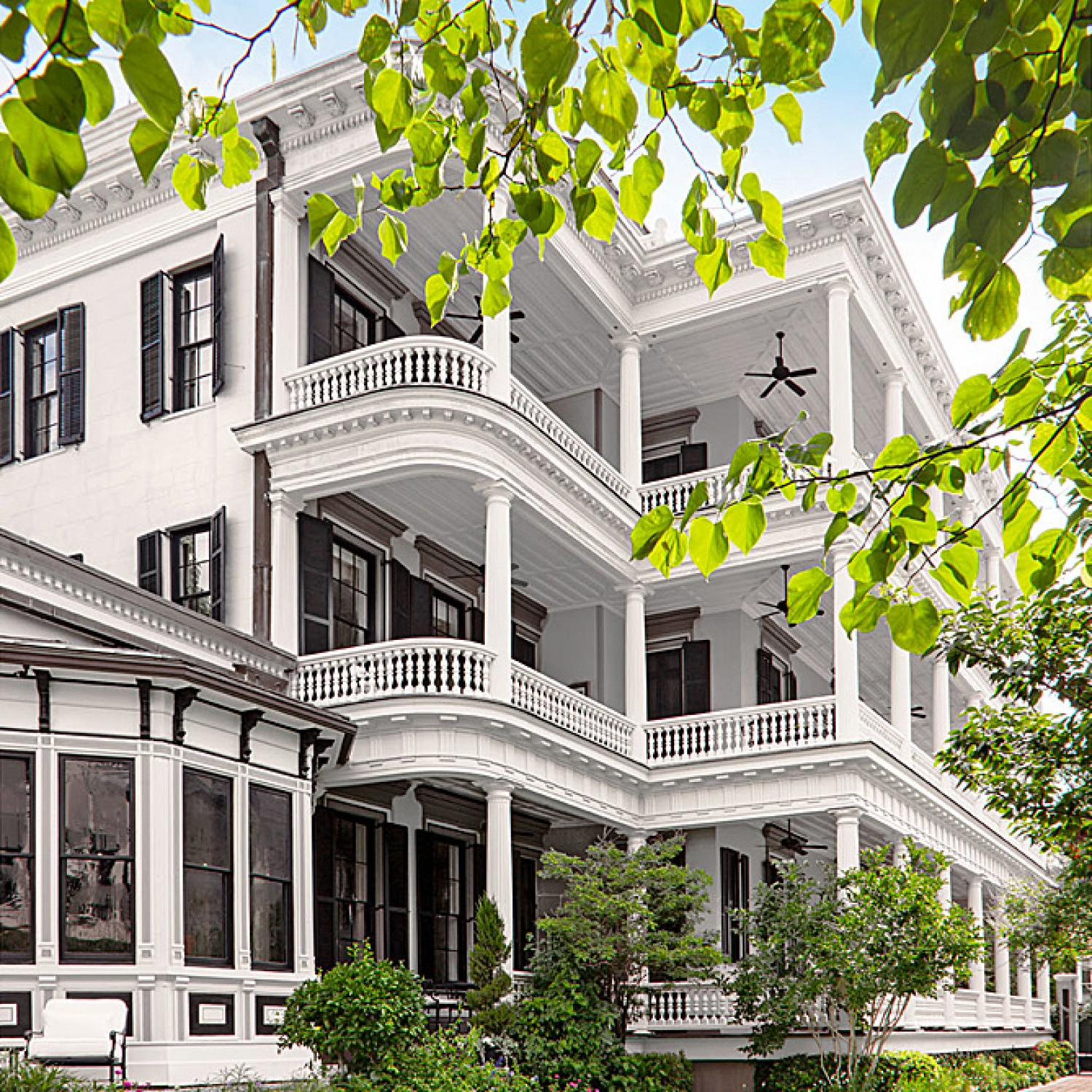 Gorgeous Updated Classic Home: Beautiful, Grand Charleston Home