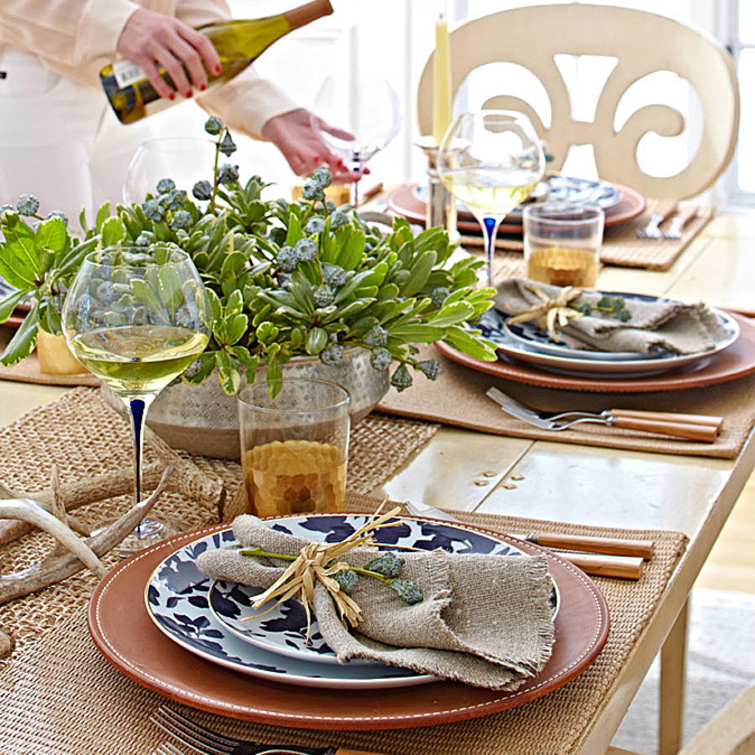 Exotic, Elegant Dinner Party | Traditional Home
