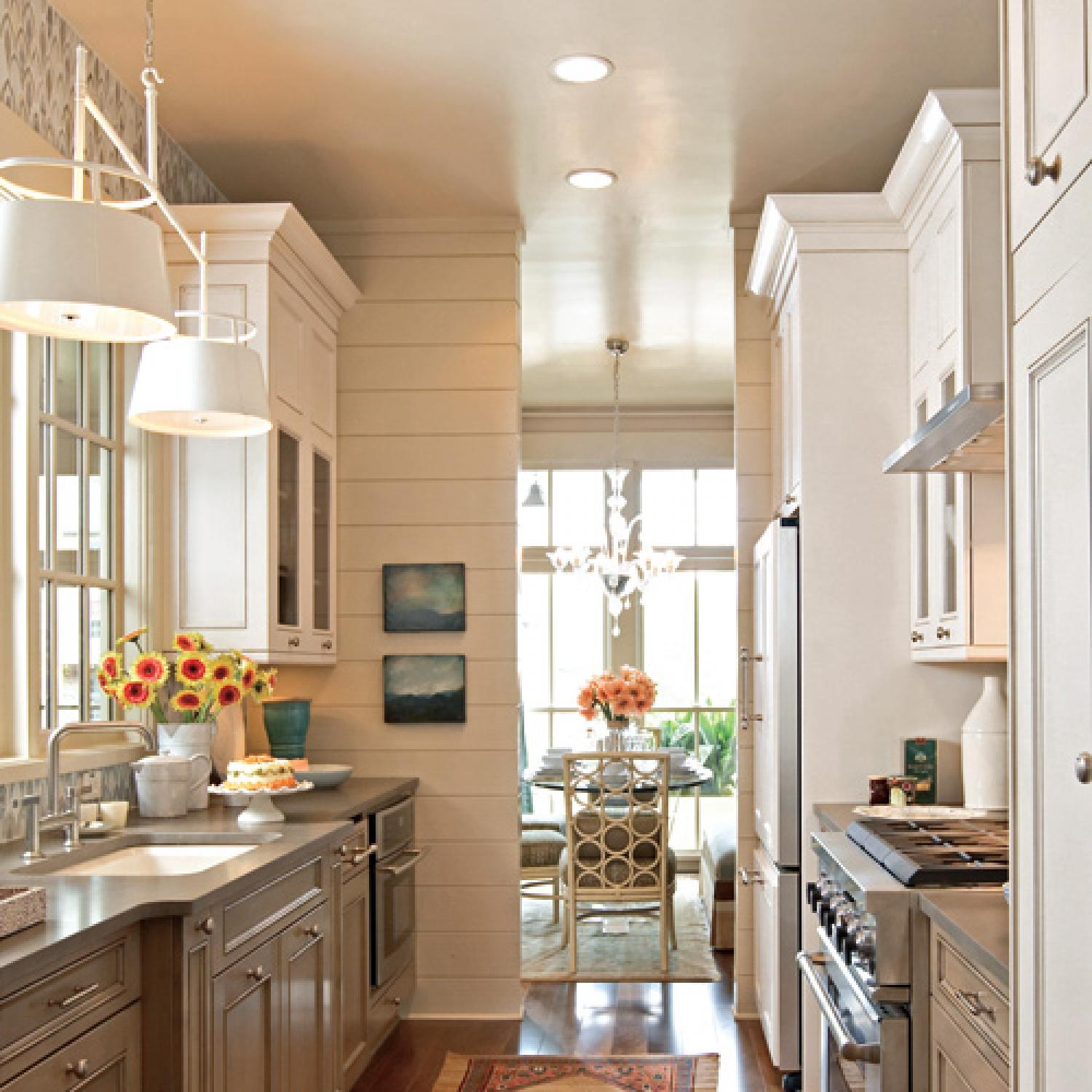 Galley Kitchen Remodel Ideas beautiful, efficient small kitchens | traditional home