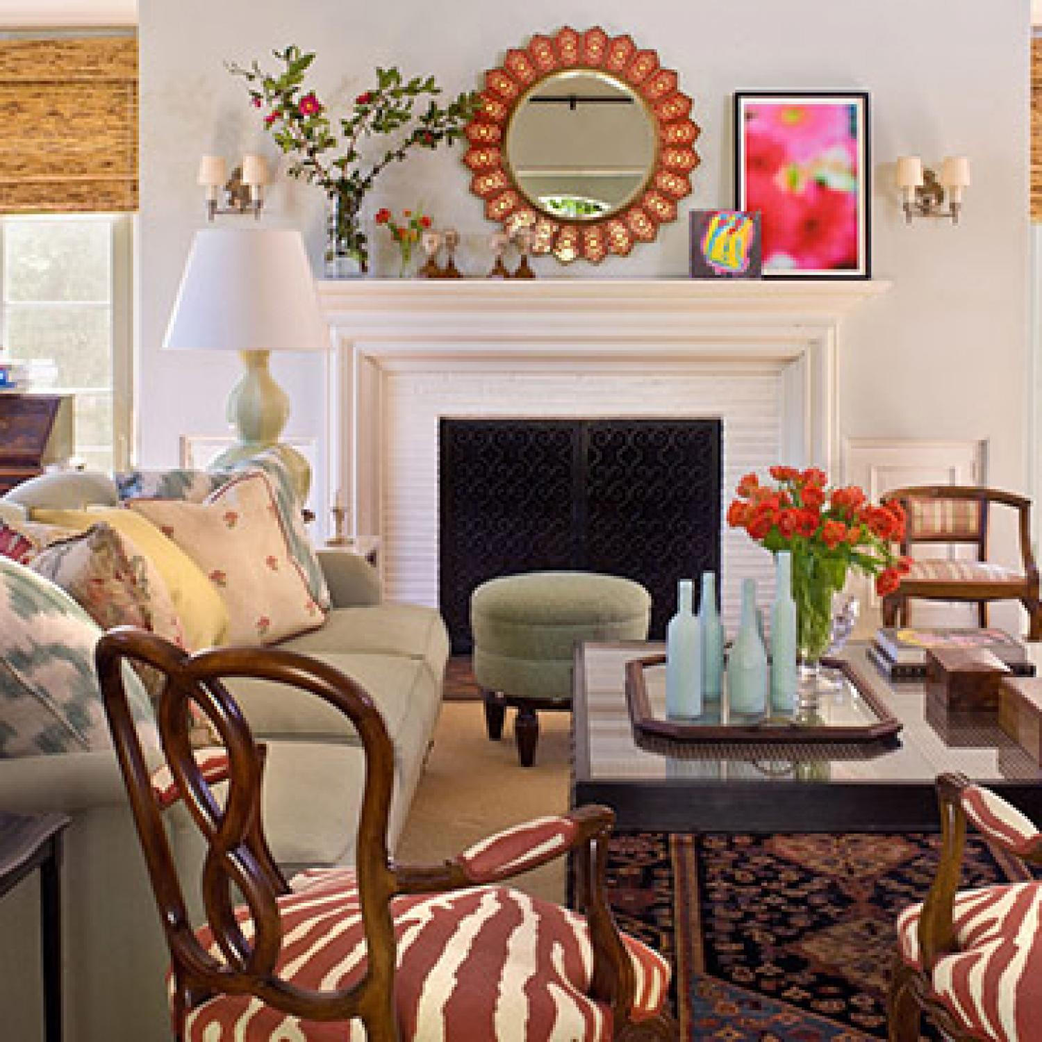 Ruthie Sommers family-friendly and colorful | traditional home