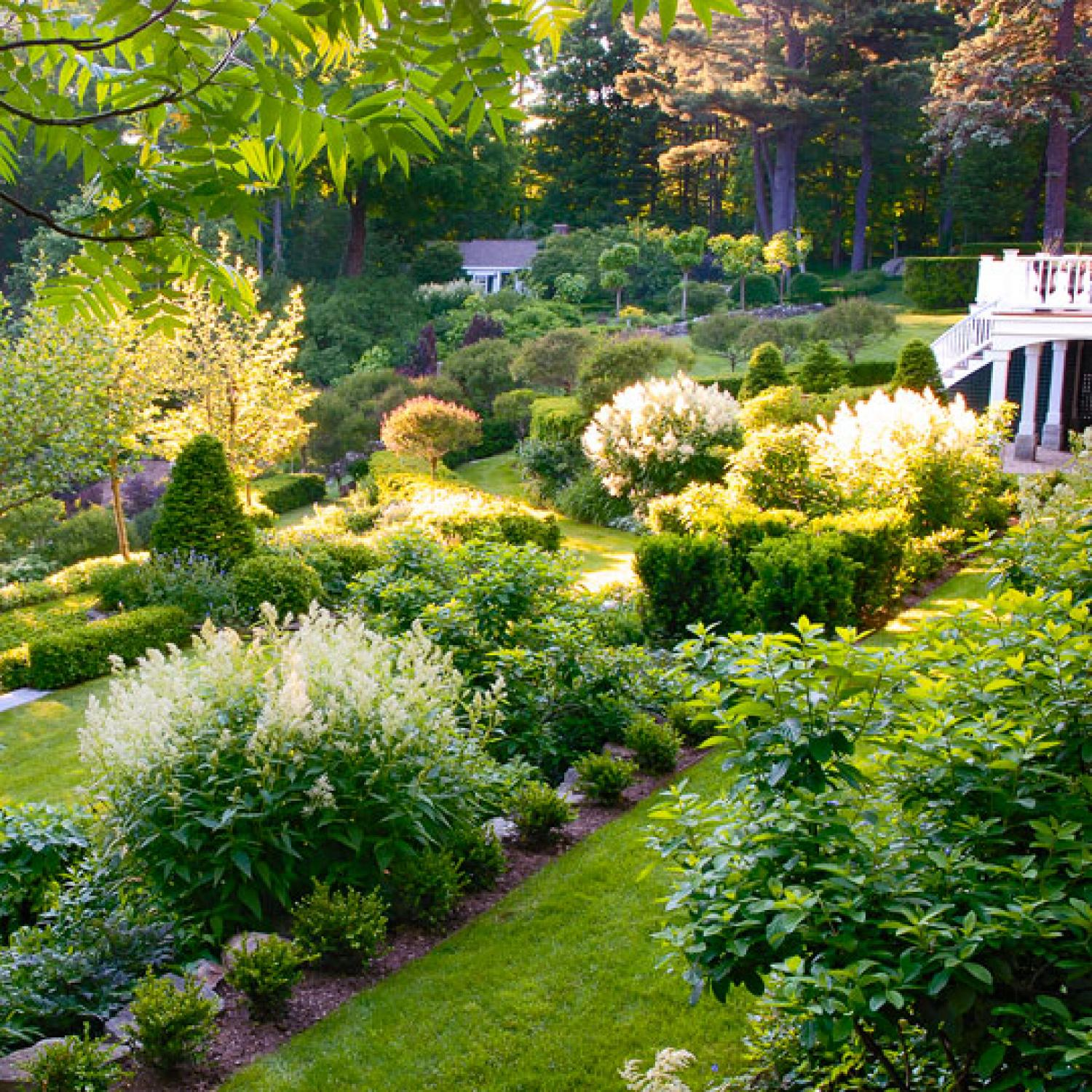 beautiful gardens | traditional home