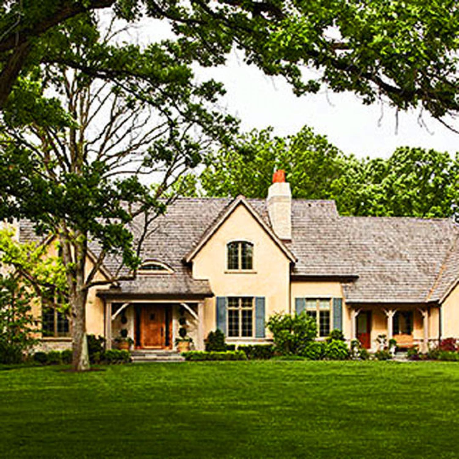glamour and sophistication | traditional home