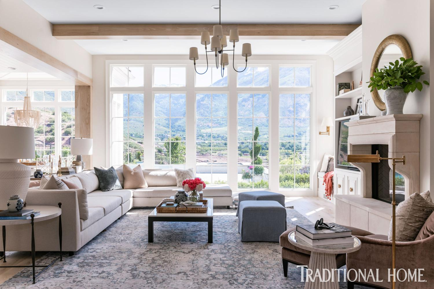 Inside The Home Of Rachel Parcell Traditional Home