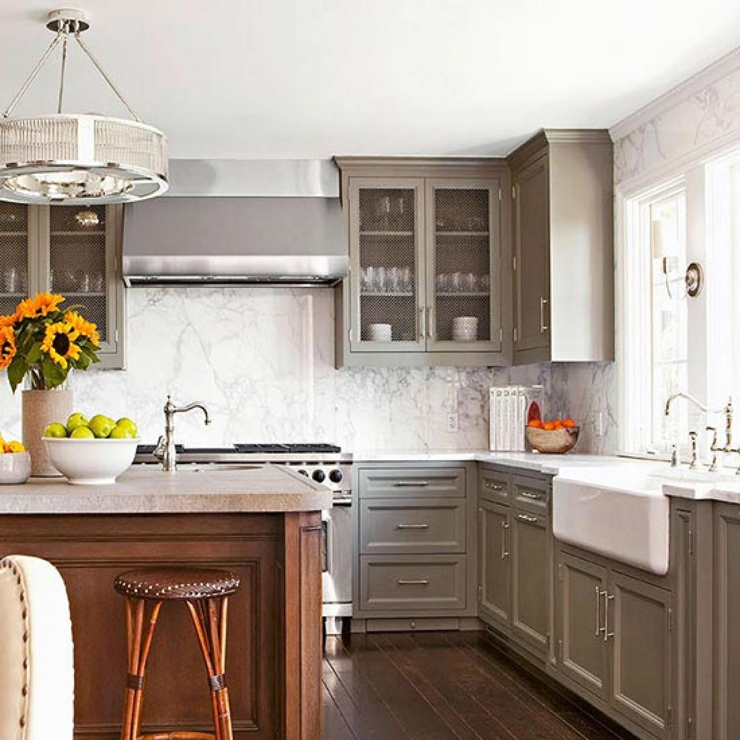 Traditional Kitchen Lighting Ideas Pictures: Kitchens: Relaxed And Refined