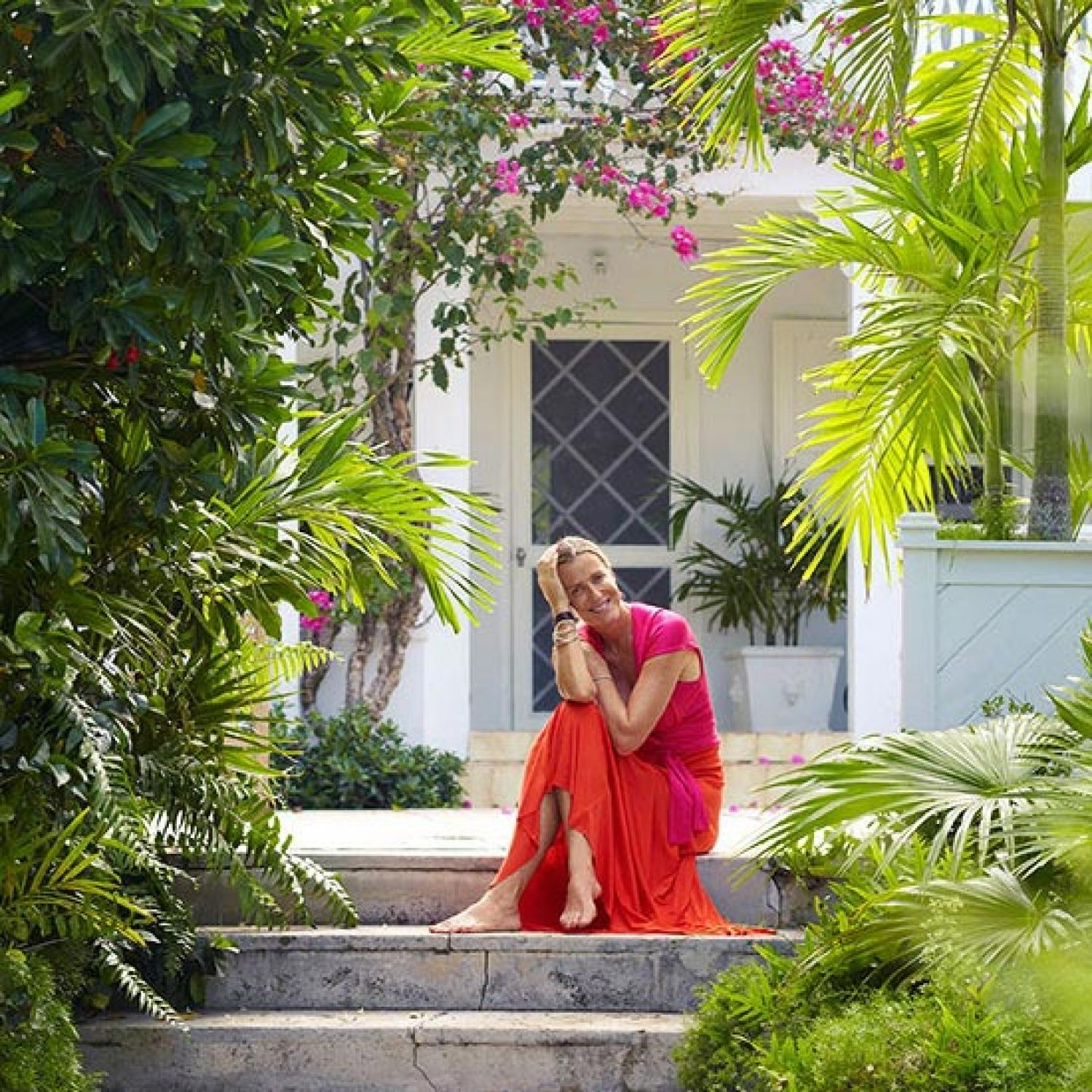 Home Garden Design Ideas India: Model, Designer India Hicks' Home In The Bahamas