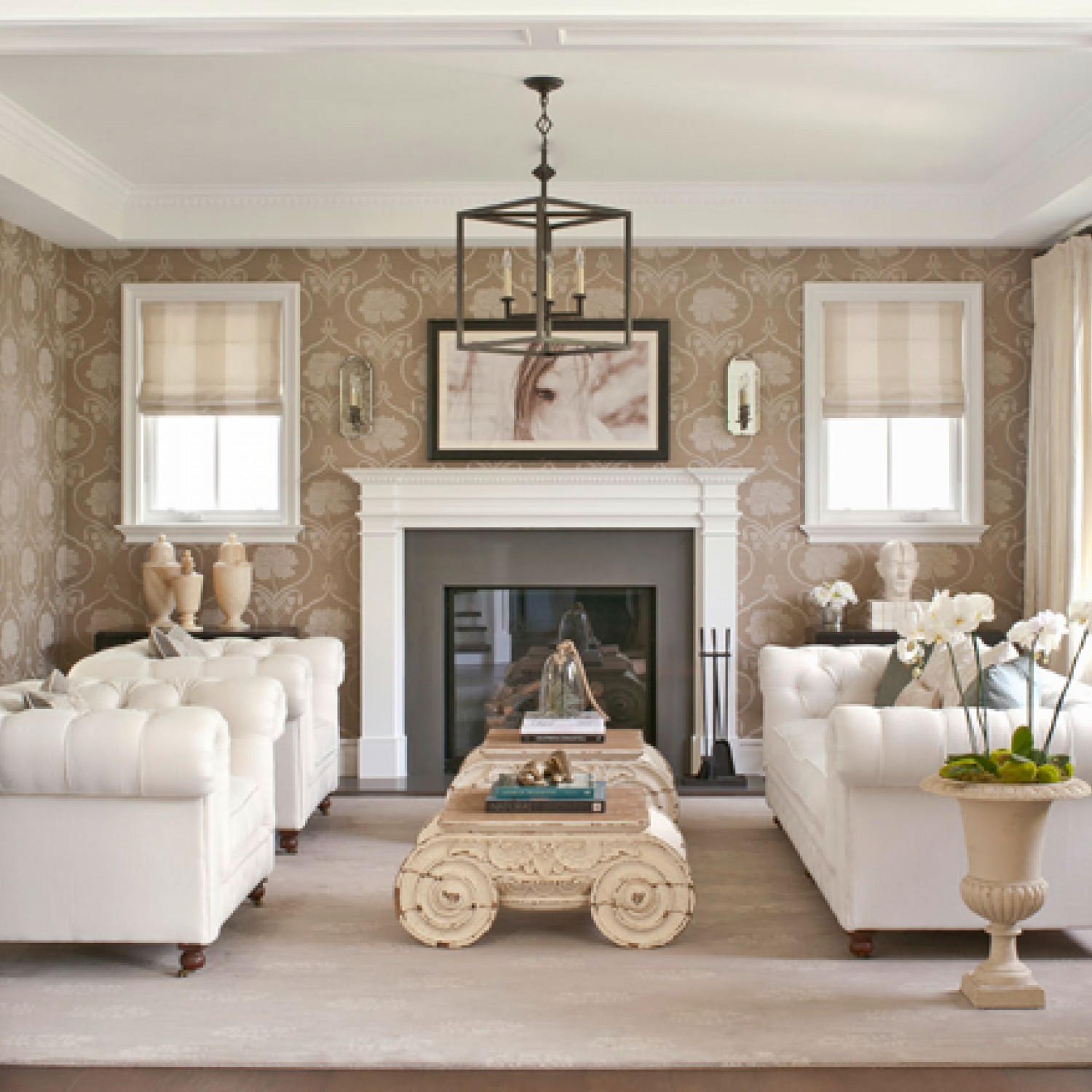 at home with bill and giuliana rancic traditional home - Chicago Home Design