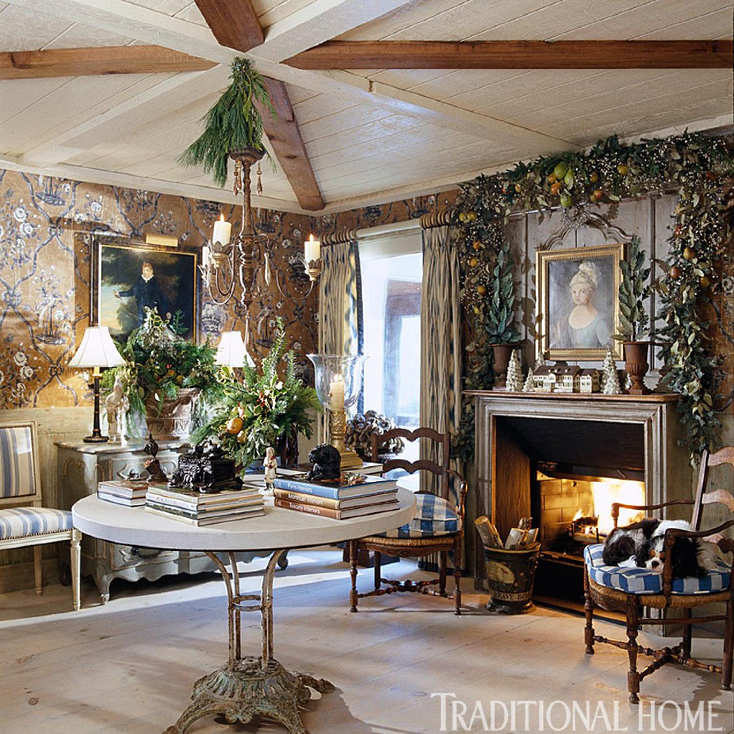 Decorated Homes: Charles Faudree's Country Cabin