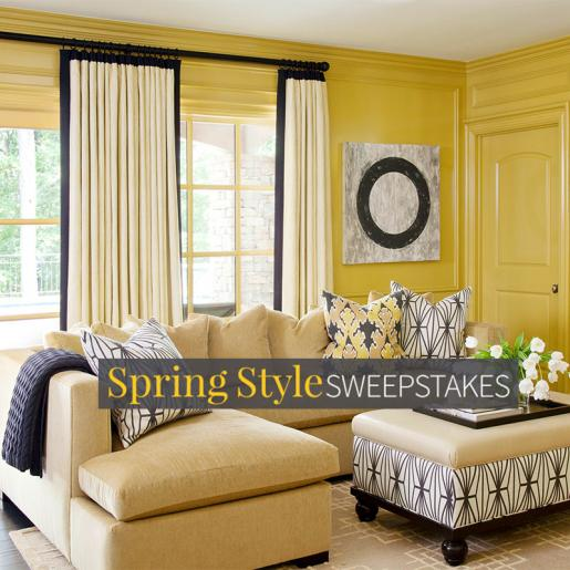enter our spring style sweepstakes for your chance to win 10000 - Traditional Home Design