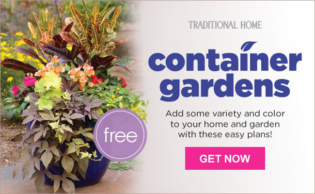 Container Garden Plans Traditional Home