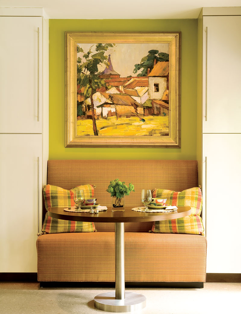 Decorating Ideas: Clever Nooks and Crannies | Traditional Home on Nook's Cranny Design Ideas  id=16150