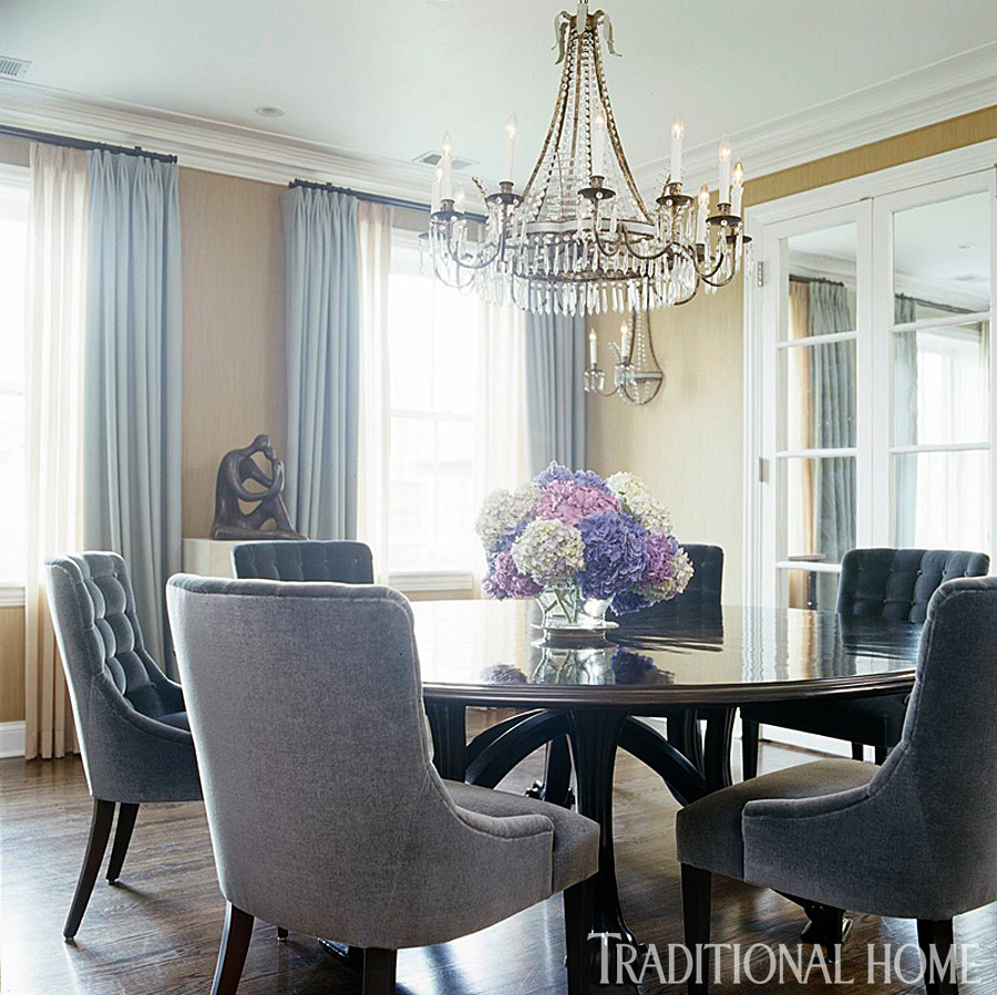 Enlarge Janet Mesic Mackie Stylish Chicago Dining Room