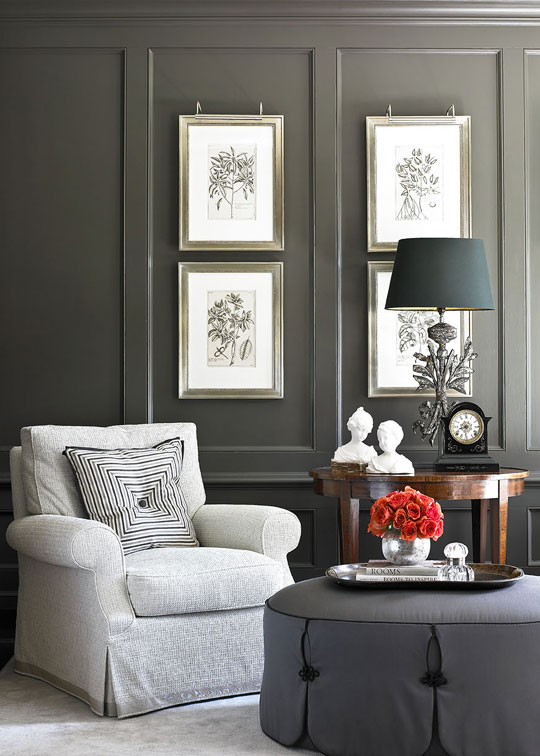 traditional home decor pinterest decorating gorgeous gray rooms traditional home 11770