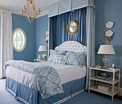 Beautiful Blue Bedrooms Traditional Home Rh Traditionalhome Com