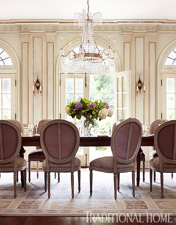 Enlarge Werner Straube Stately Modern Dining Room