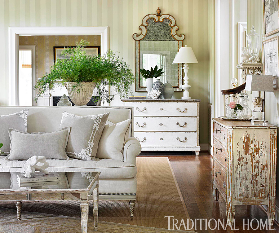 romantic living room decor rooms and decorating ideas traditional home 13779
