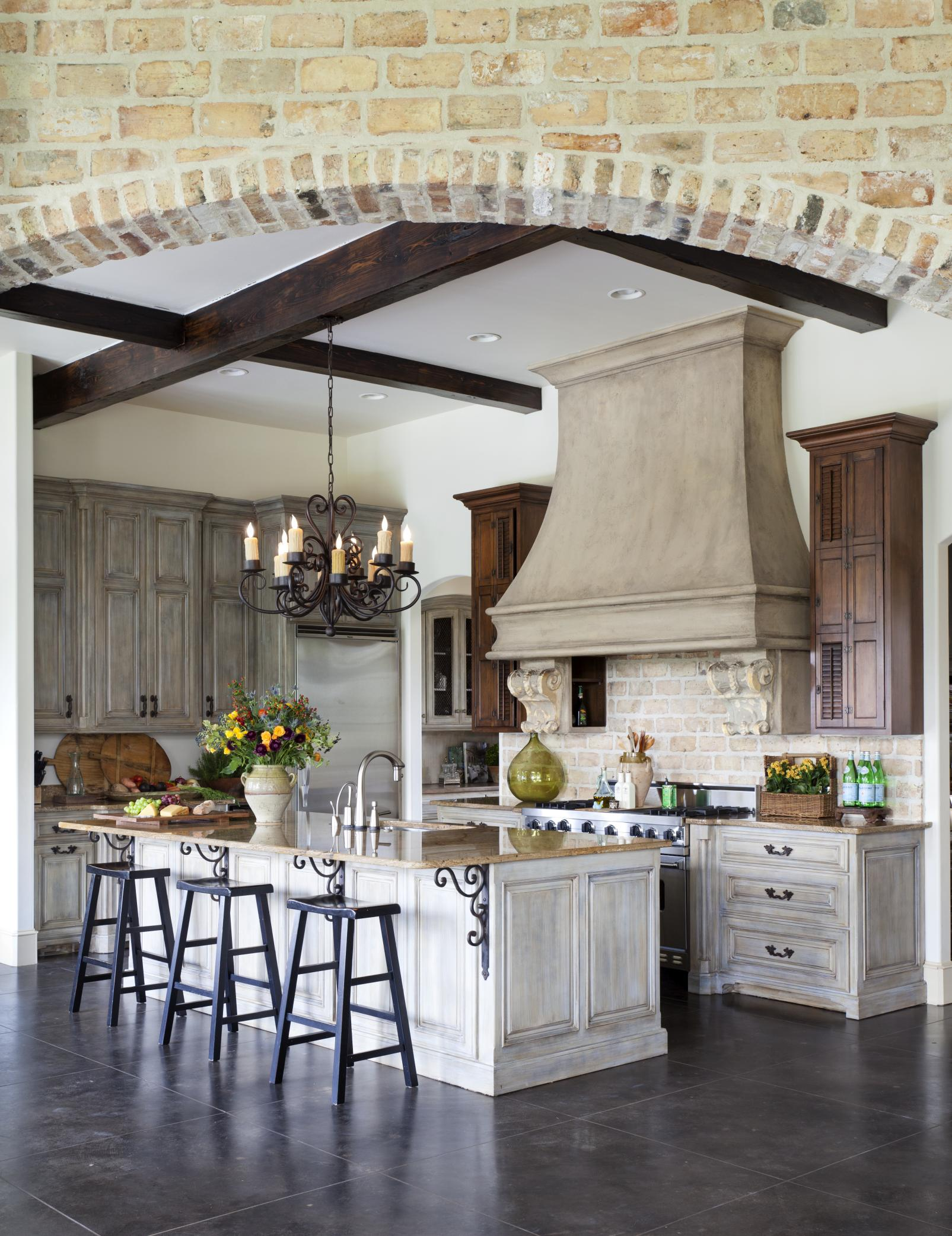 parisian kitchen design country kitchens traditional home 1415