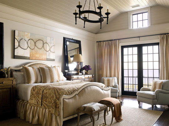 Bedroom French Doors Need Draperies