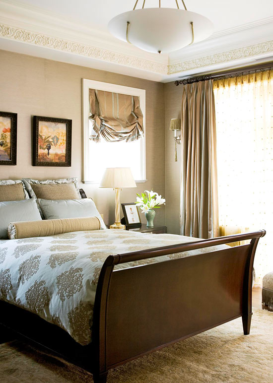 bedroom decorating ideas pillow talk traditional home 13575 | p 101094416
