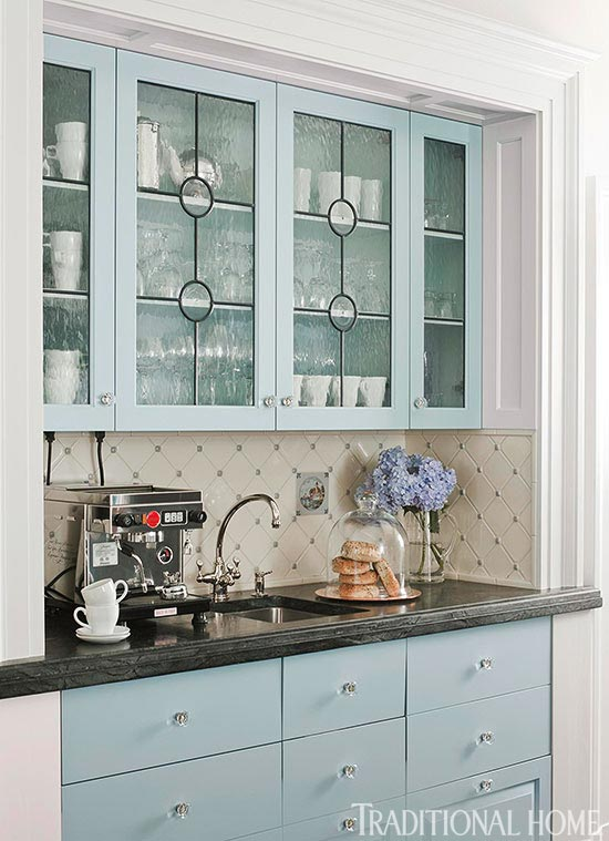 Leaded glass cabinet designs mf cabinets for Beveled glass kitchen cabinets