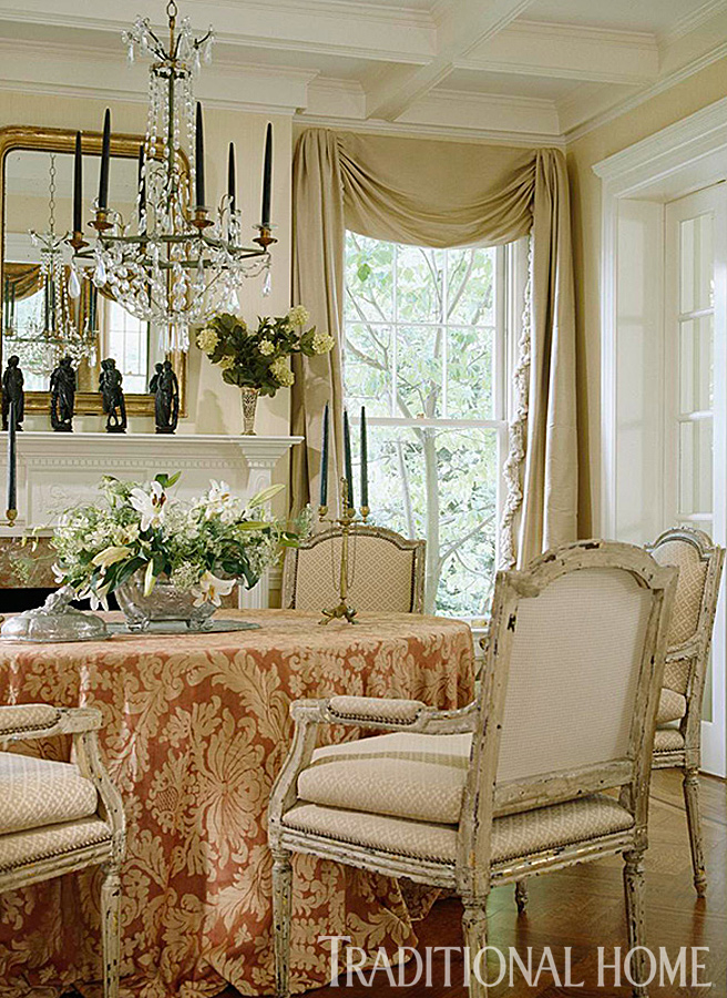 Enlarge Gordon Beall Richly Detailed Dining Room