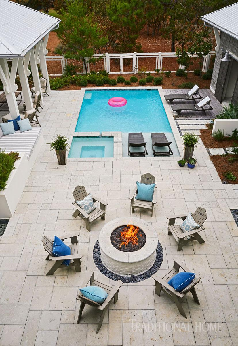 Cool Pools | Traditional Home on Cool Patio Ideas id=44017